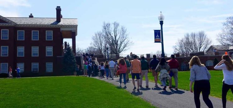 College Tour: Why Parents Should Be Seen and Not Heard