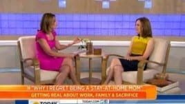 Lisa Heffernan on the Today Show: Pros and cons of being a stay-at-home mom