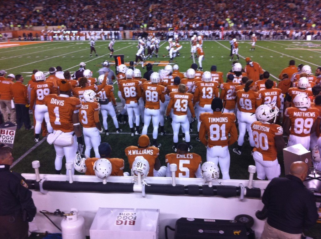 Texas, Longhorn football, last Texas-AM game in Austin