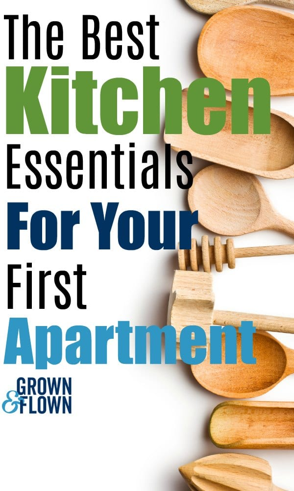Whether you are stocking a kitchen when your child goes away to college, or getting ready to move into your first apartment or dorm, these are the 10 essentials everyone needs for a new kitchen. #kitchengadgets #kitchenessentials #dormlife #dorm #firstapartment #kitchenideas #kitchengifts