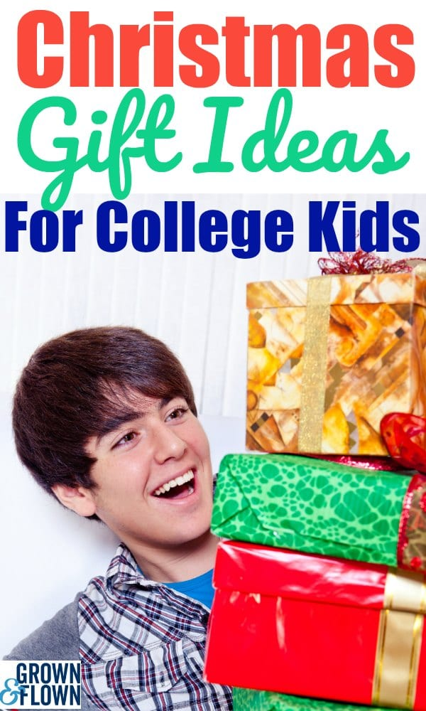 Christmas shopping for college kids and teenagers is fun, but can also be a big task to find the perfect gift for your kid away at college. These Christmas gift ideas are some of the best for teens and college students. #teenagers #giftideas #giftguide #christmasgiftlist #gifts #collegekids #collegegiftideas