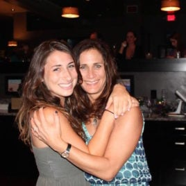 When a daughter needs her mom at college