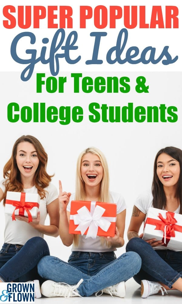 Searching for the perfect gift idea for your college student or teenager can sometimes be a challenge. But, these super popular gift ideas are a great place to start. This gift guide is full of awesome ideas! #giftguide #giftideas #giftsforteens #giftsforcollegestudents #collegelife #teenagers #holidaygiftguide