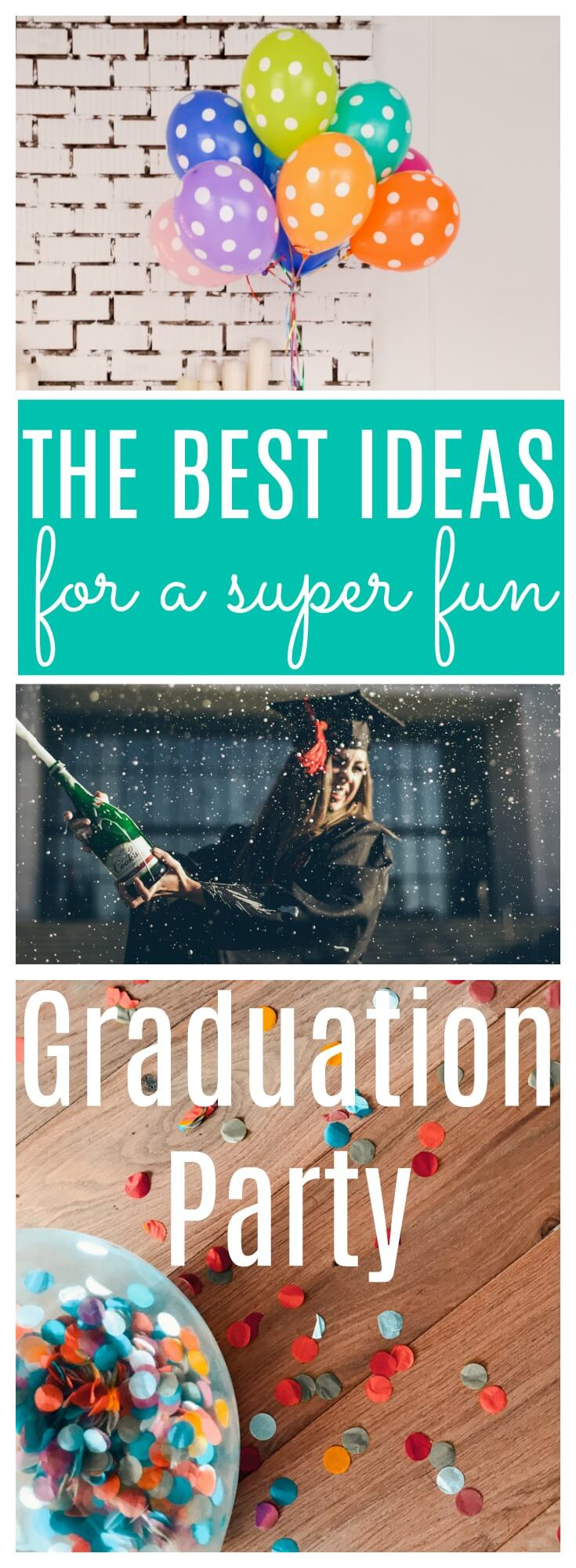 We've got all the best ideas for throwing a super fun graduation party and found some super cute decorations at @shindigz #shindigz #Ad If you're looking for graduation party ideas that include party, decor, food and much more, we've got all the best ideas for throwing a super fun graduation party. #graduation #gradideas #graduationparty #partyideas #gradparty #partydecor #partyfood #collegelife