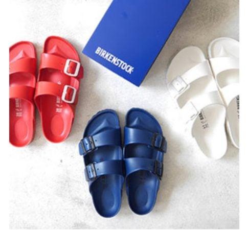 Bierkenstock sandals