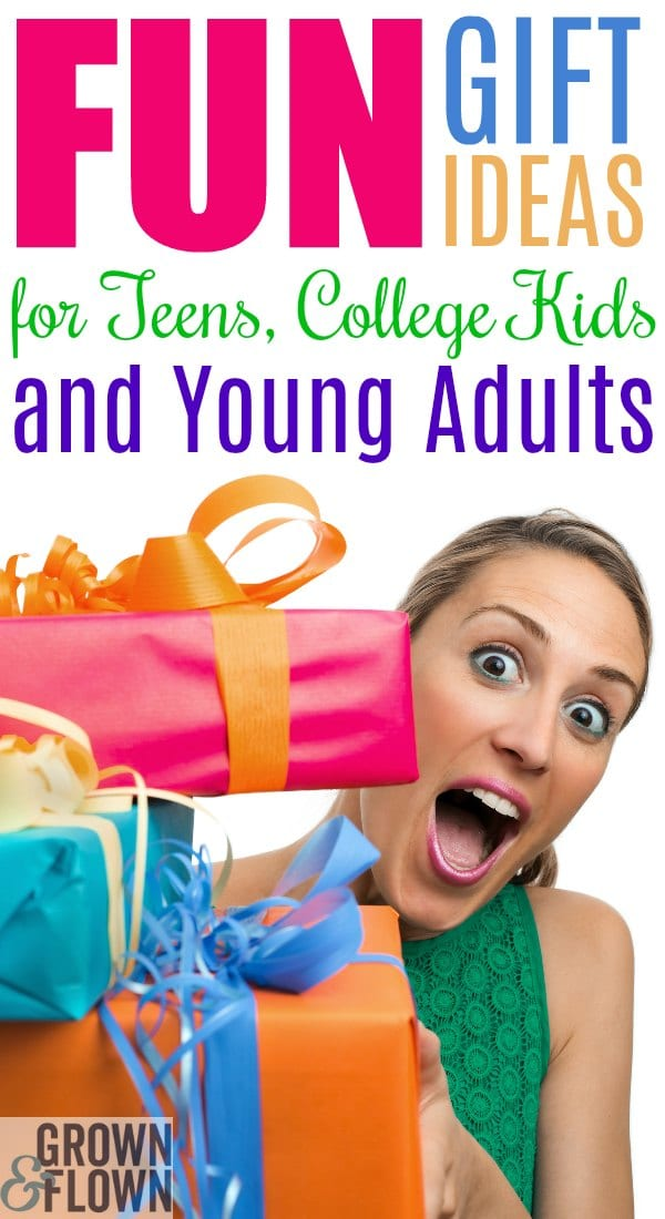 What are the holidays without a few, just-for-fun presents for everyone on your list?  Here are our best gift ideas for your teens, college kids, and young adults, too. #giftGuide #giftsforteens #giftideas #holidaygiftguide #giftsforcollege #collegelife #giftsforadults
