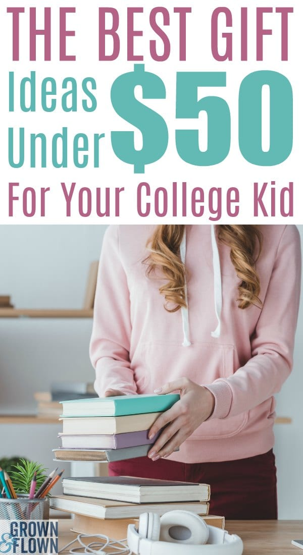 Finding the right gifts for your college student can be challenging but this gift guide has the best gift ideas for under fifty dollars for your college student to make their college life feel more like home. #college #collegelife #giftideas #giftguide #holidaygifts #giftsforteens #giftideasforteens #giftsforcollege