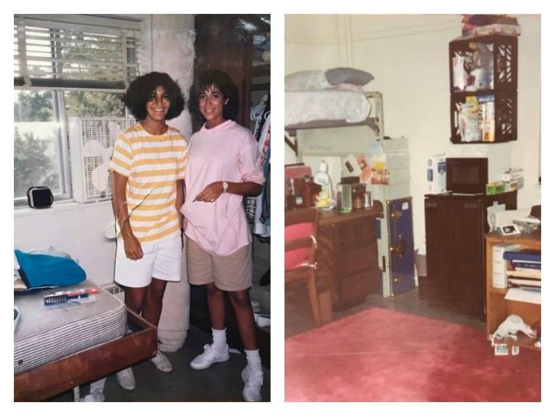 80s dorm rooms vs now