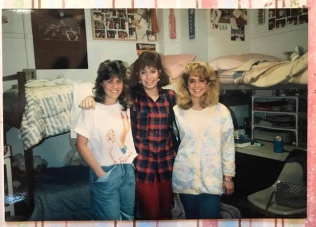 80s dorm rooms vs now