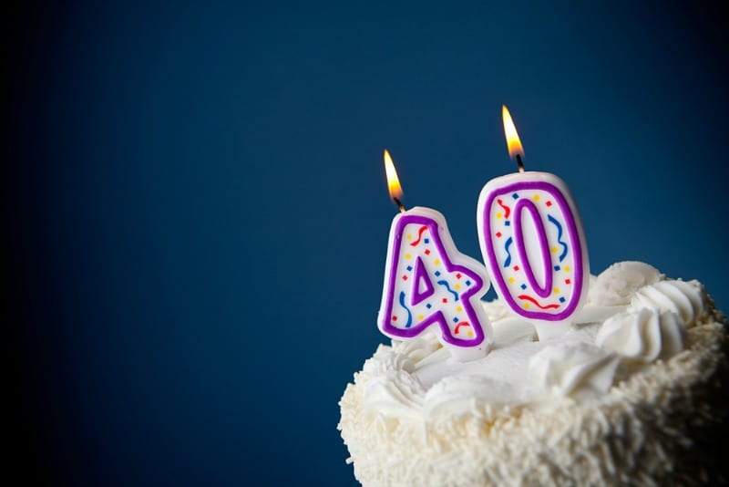 The realities of turning 40