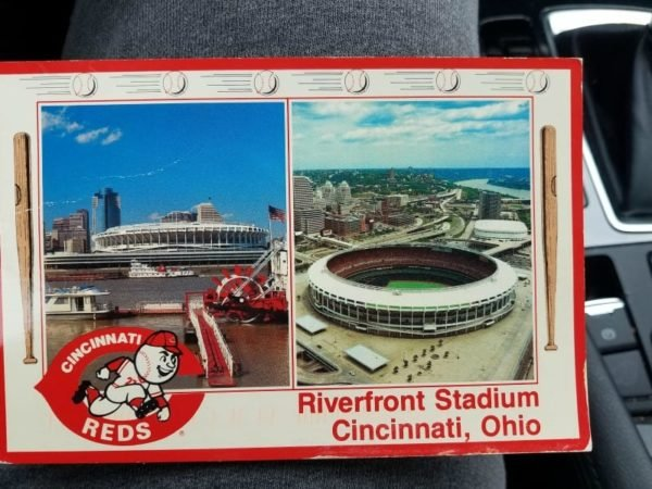 Vintage post card from Cleveland