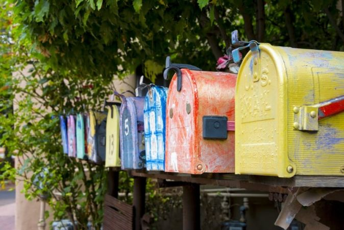 College students love to receive handwritten letters or cards.