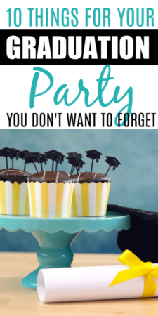 There is a lot to remember for your high school graduation party. The senior party is a big deal, and there are lots of little things on our checklist that you may not have thought of for the grad party. #gradparty #seniorparty #graduation