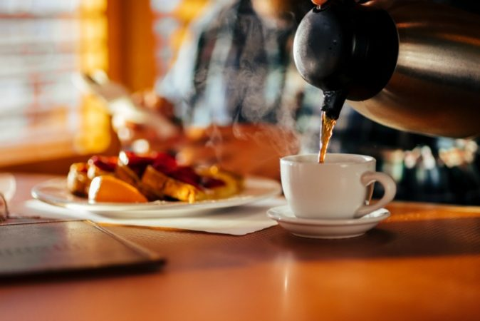 Breakfast with my son made me let go of my mom worry.