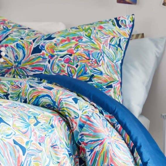 pretty dorm bed