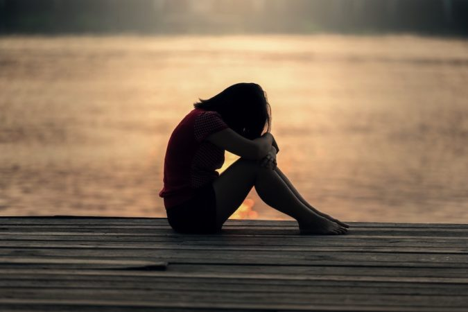 sad teen