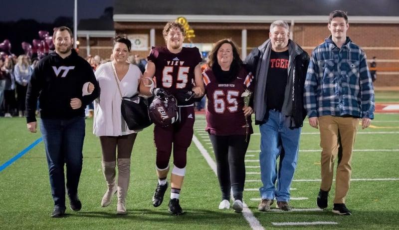 high school football senior night