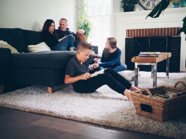 teens and family