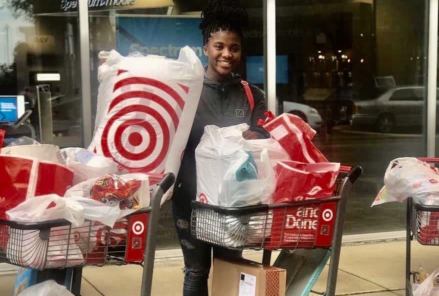 target dorm shopping