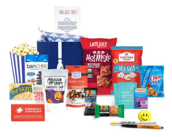 Campus Cube Care package for Grown and Flown