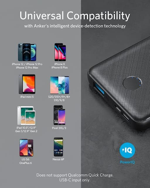 Anker portable battery charger