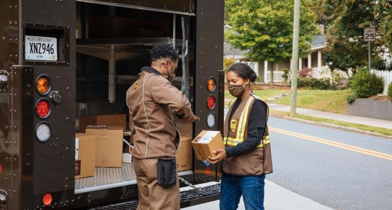 UPS driver and seasonal worker
