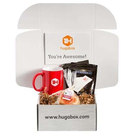 Hugabox Valentine's Day care package