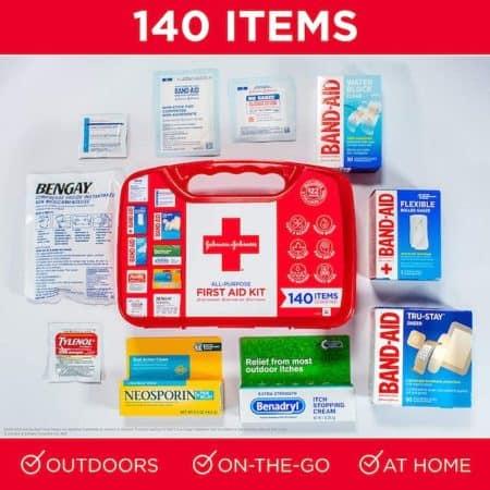 J&J first aid kit