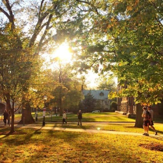 Princeton in the fall